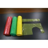 China Disposable Aprons On  a Roll Economy PE  Aprons On a Roll  Red on sale