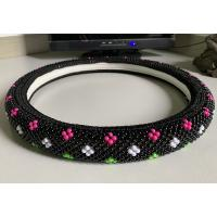 Quality Colorful Plastic Beads Car Steering Wheel Cover Cool In Summer for sale