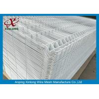 Quality 1800*2000mm 3D Wire Mesh Fence White Powders Sprayed Coating Mesh Fence for sale
