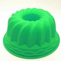 Large Size silicone pumpkin cake mold for bakery shop