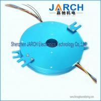 25.4mm Low torque Pancake slip ring 4 circuits each 10A  thickness:20mm