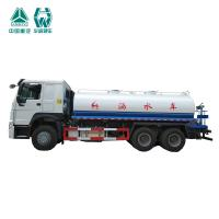 Quality Custom Made Water Tank Truck With Engine Driven Gearbox 336hp 6X4 20cbm for sale