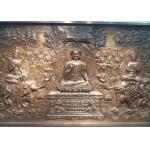 China Public Decorative Metal Bronze Relief Sculpture 350cm X 150cm Weather Resistance for sale