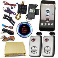 Buy Smartphone Remote Start Car Alarm Controlled By Phone / Remote Car Starter From at wholesale prices