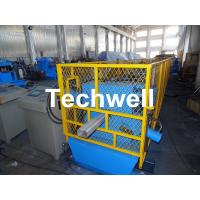 Quality Rainwater Downspout Roll Forming Machine With φ75mm Axis for Rainwater Downpipe for sale