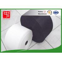 Plastic hook and loop cable tie roll super thin hook heat resistance