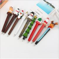 China Advertising Ball Pen with resin christmas Decorations for promotional gift on sale