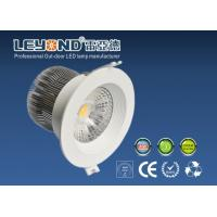 Quality Anti - Glare Lens Beam10 / 24 / 90 Degree Cree Led Downlight Dimmable 12w for sale