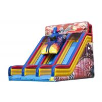 Quality Entertainment Large Blow Up Slide For Commercial Or Personal 8.23 * 5.95 * 6.48m for sale
