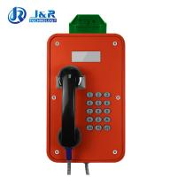 Tunnels Outdoor Weatherproof Telephones / Industrial Analog Telephone With LCD Display