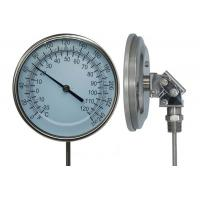 Quality WSS Adjustable Bimetal Thermometer With Screw Or Flange Connection for sale