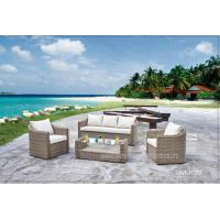 Quality Outdoor Garden Patio Seating Sets PE Rattan / Wicker Deep Seating Furniture for sale