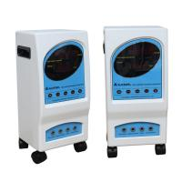 Buy cheap Professional Rectangle Electrostatic Therapy Machine With Blue White Wheel from Wholesalers