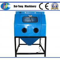 Quality Jewelry Surface Treatment Wet Sandblasting Cabinet Φ13mm*23mm Blasting Hose Dia for sale
