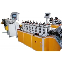 Quality Automatic Servo Control Omega V Clamp Cold Roll Forming Machine for sale