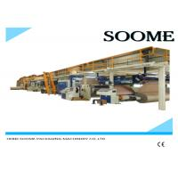 Quality Fully Automatic Corrugated Cardboard Production Line 5 Layers 1 Year Warranty for sale