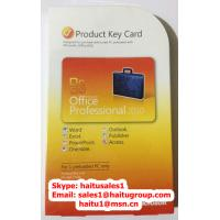 Quality 100% online activation Office 2010 professional key card PKC with Original FPP key for sale