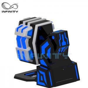 Quality Fiberglass 9D Virtual Reality Simulator Rotating Equipment / 360 King Kong 9DVR Cinema for sale