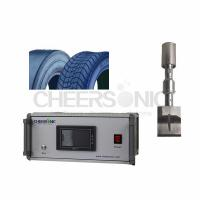 Quality 20 Khz Ultrasonic Tire Cutting Machine With High Precision Cutting for sale