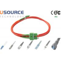 Buy Multimode SC-SC Fiber Patch Cord Dual Core Processor , Fiber Optic Patch Cord at wholesale prices