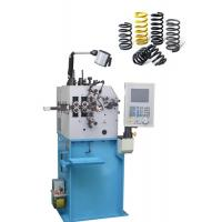 Quality Semi Elliptic Compression Spring Machine 300pcs/Min With 0.85 Kw Cam Axis Servo Motor for sale