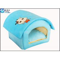China Custom Multi Color Lovely Pet House Dog Houses Or Cat Houses Blue Orange Red Pink on sale
