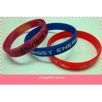China Popular design hot sale fashion silicon bands on sale