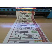China One Way Vision Custom Waterproof Stickers , Car Window Advertising Stickers on sale