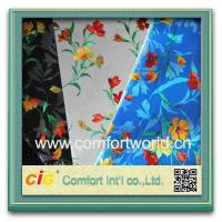 Waterproof eco friendly auto upholstery fabric pretty printing pp