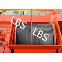 Quality Mining Industry and Construction Hoist Hydraulic Winch and Winch Drum 1-15T Lifting Load for sale