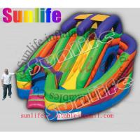 Quality hot sell inflatable jumper slide combo com041 for sale