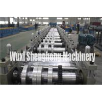 Quality Gutter Style Ridge Cap Roll Forming Machine Roof Flashing Profile for sale