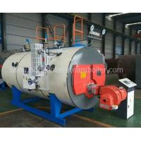 Quality Strong Adaptability Diesel Fired Hot Water Boiler Corrugated Furnace ISO9001 for sale