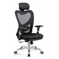 Quality Gas Lift Fabric Home Office Chair , Commercial Staff Office Chair Long Using Life for sale