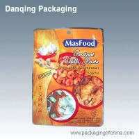 Quality Moisture Proof Vacuum Bag Food Packaging With Handle Hole,Spices  Packaging for sale