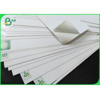 Buy cheap FSC Ivory Board Fold 250 / 350gsm One Side Coated White Board Sheet from wholesalers