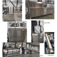 Quality Puff Corn Snack Food Extruder Machine , Extrusion Snacks Food Machinery for sale