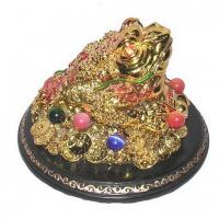 Buy cheap Bejeweled Gold Chanchu with Triple Ingots from Wholesalers