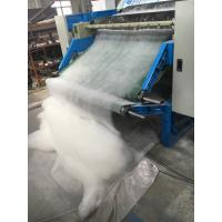 Automatic PET Fiber Textile Carding Machine For Spray - Bonded / Chemical Bonded