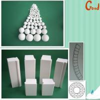 Buy cheap Alumina lining bricks wear resistant linings for ball mill from wholesalers