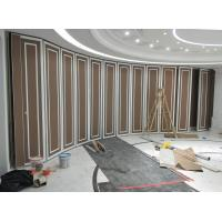 China Custom Movable Sound Proof Walls For Dancing Room , Sliding Aluminium Track Operable Wall Systems on sale
