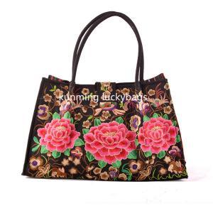 National trend hmong embroidery handbag chinese fashion ladies handbags