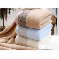 Quality Soft Durable Household Terry Cotton Bath Towels Super Absorbent for sale