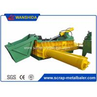 Customized PLC Control Hydraulic Metal Baler Machine Round Packing Block Or for sale