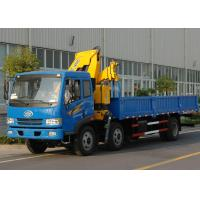 Quality High Quality Commercial Knuckle Boom Truck Mounted Crane , 6300kg Weight for Lifting for sale