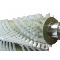 China Cylindrical Dust Removal Brush Roller Brush Cleaner For Industrial Cleaning on sale