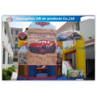 Quality Popular Car Inflatable Combo Bouncing Castles Inflatable Jumping Castle Combo for sale