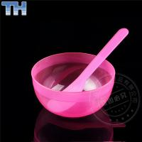 Quality Portable Face Mask Mixing Bowl , Clear Silicone + PP Face Mask Bowl Set for sale