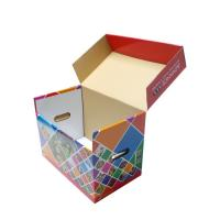 Quality Double Wall Corrugated Boxes CMYK Printing Hot Stamping ODM Service for sale