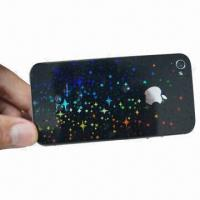 Quality 3-D Screen Protector, Suitable for iPhone 4/4S, with Hard Coating Surface Treatment for sale